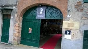 Colombotto Rosso l'ingresso della casa-museo