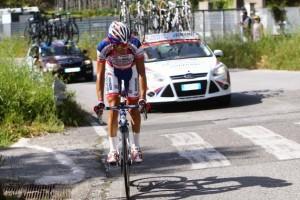 Franco Pellizzotti ha chiuso al terzo posto questa tappa del Giro d'Italia.
