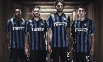 Presentata la nuova maglia dell'Inter.