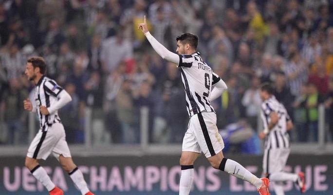 Morata, attaccante della Juventus