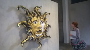 In Part Lucio Fontana Testa di Medusa