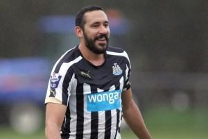 Jonas Gutiérrez, autore del gol salvezza per il Newcastle