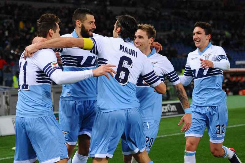Lazio terzo posto Champions.