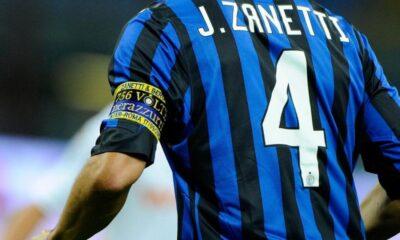 Maglia n 4 Javier Zanetti