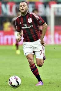Jeremy Menez con la maglia del Milan