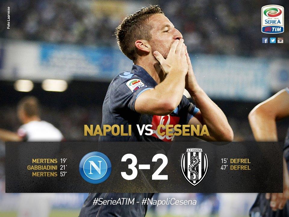 Napoli Cesena