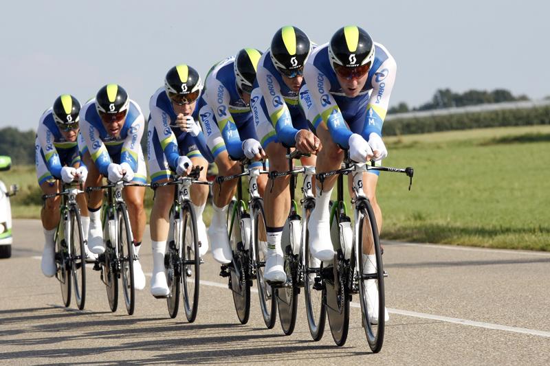Orica Greenedge prima tappa Giro d'Italia.