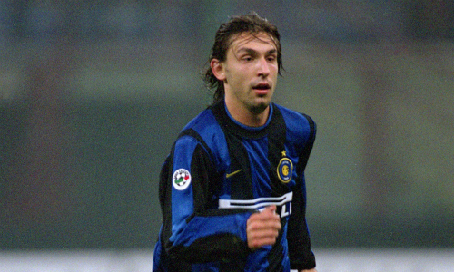 Pirlo ai tempi dell'Inter