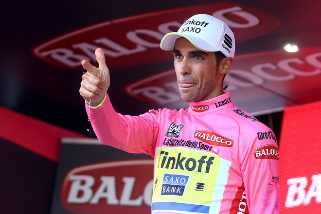 Alberto Contador è il dominatore del Giro d'Italia