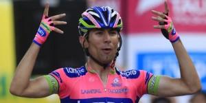 E' Diego Ulissi il vincitore della settima tappa del Giro d'Italia.