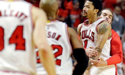 Derrick Rose trascina i Bulls alla vittoria nei Playoff Nba