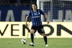 Biava ha realizzato il gol del momentaneo vantaggio dell'Atalanta sulla Lazio.