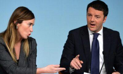 Boschi e Renzi Italicum
