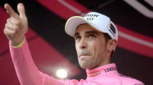 Alberto Contador, leader del Giro d'Italia