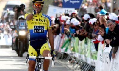 Alberto Contador, favorito della 15a tappa