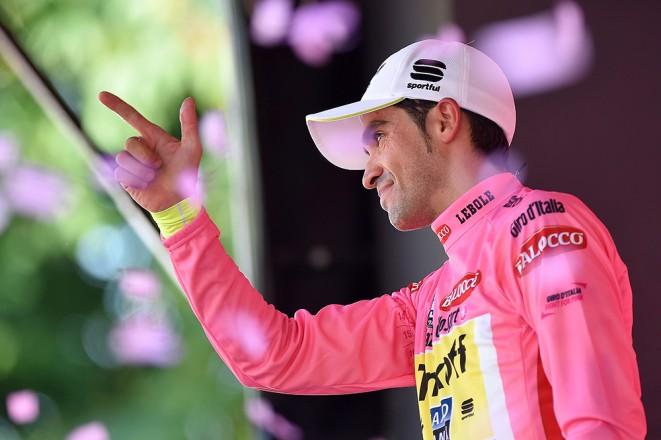 Alberto Contador, vincitore del Giro d'Italia
