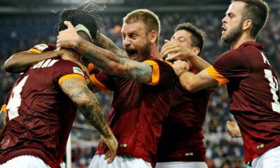 La Roma si prepara ad affrontare la Lazio nel derby