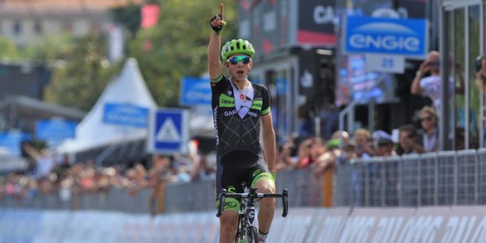 Davide Formolo, vincitore della tappa di oggi