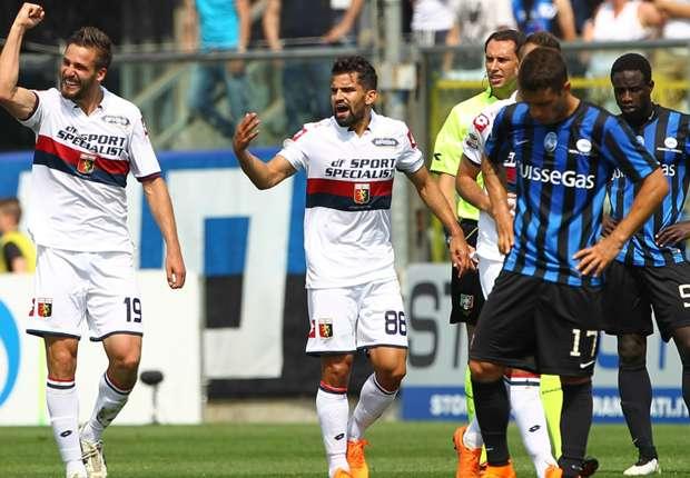 Serie A Genoa-Atalanta.