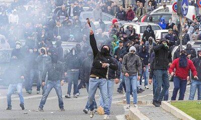 incidenti derby Roma