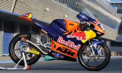 KTM moto3.