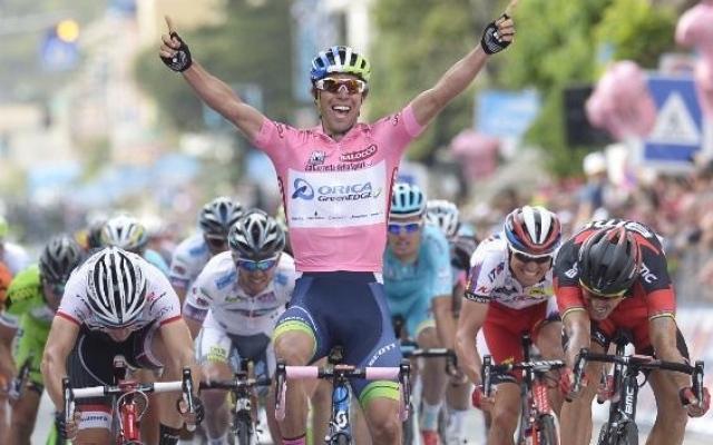 Michael Matthews vince la terza tappa del Giro d'Italia