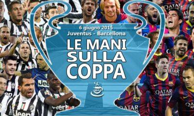 Juventus-Barcellona finale Champions.