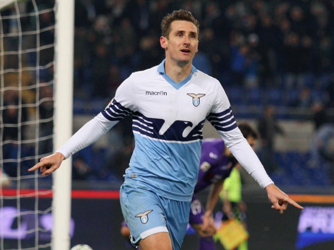 Klose-Lazio ritiro.
