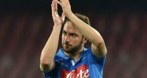 Higuaìn, trascinatore del Napoli anche in Europa League.