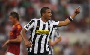 Felipe Melo con la maglia della Juventus ai tempi della sua esperienza in bianconero