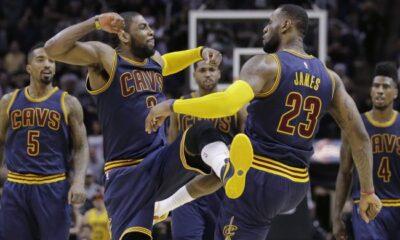 I Cleveland Cavaliers, campioni della Eastern Conference 2014/2015