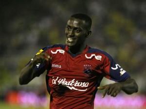 Un giovane J. Martinez con la maglia dell'Independiente Medilla