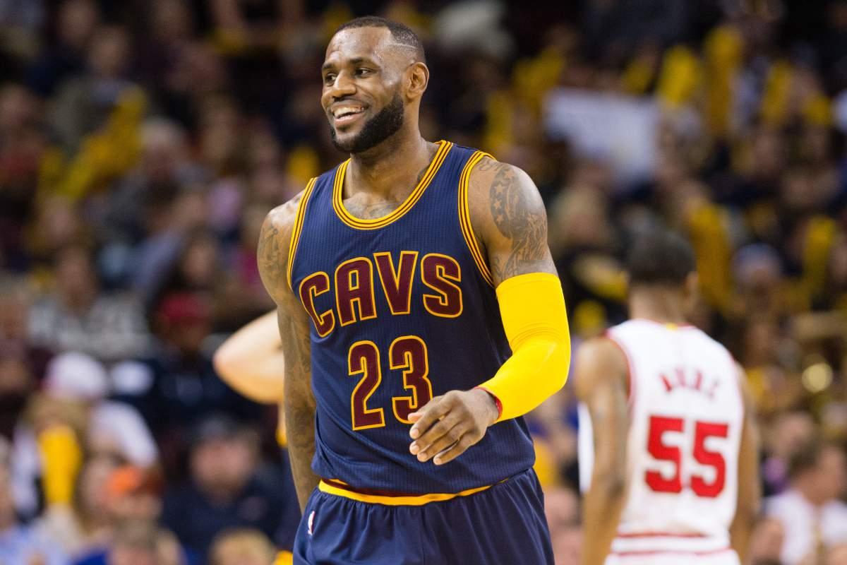 LeBron James, fenomenale leader dei Cleveland Cavaliers