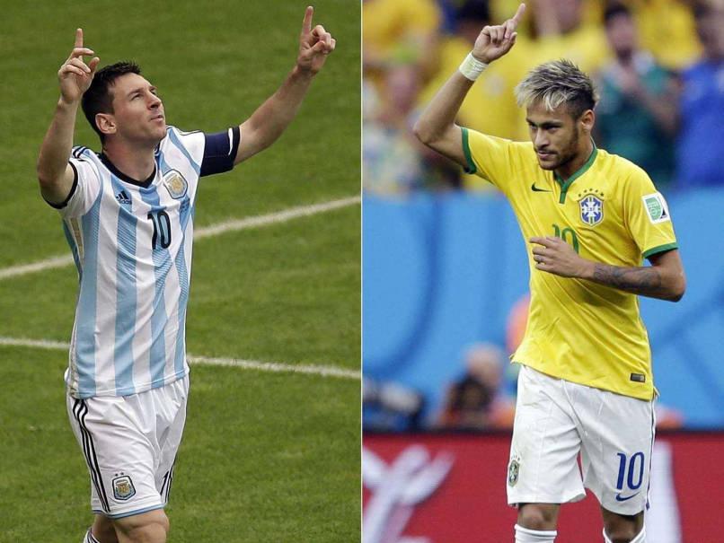 Messi Neymar Copa America 2015.
