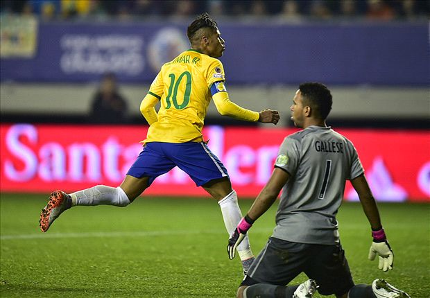 Neymar, protagonista della Copa América