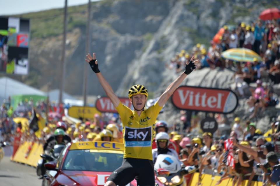 Chris Froome decima tappa Tour.