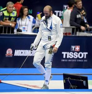 Santarelli, grande esordio in un Mondiale
