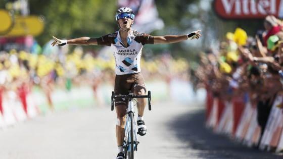 Vuillermoz ottava tappa Tour de France.