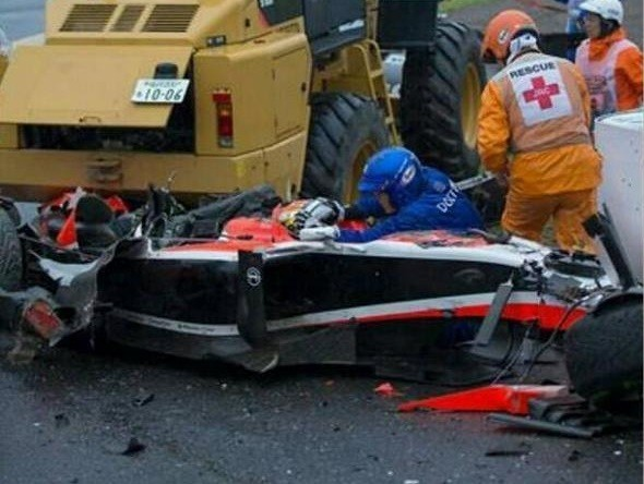 Il terribile incidente di Jules Bianchi