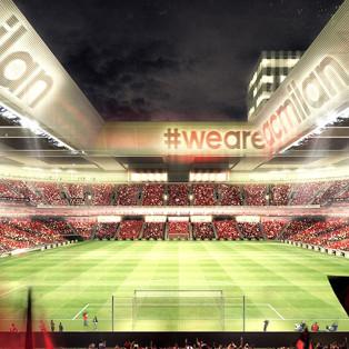 Nuovo stadio del Milan: bolgia dentro, delirio fuori