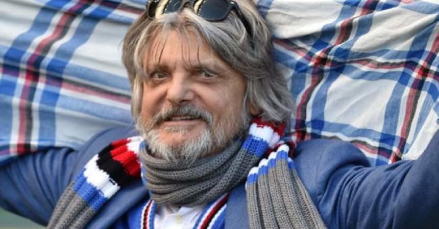 Massimo Ferrero, presidente della Samp