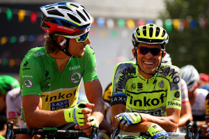 Quarto secondo posto in questo Tour de France per Peter Sagan. A beffarlo stavolta è stato Greg Van Avermaet.