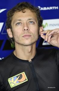 Rossi nel box Movistar Yamaha MotoGP foto: Alessandro Giberti
