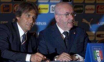 Carlo Tavecchio e Antonio Conte: dicono che la miglior difesa è l'attacco, ma ci sono delle eccezioni