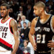 Tim Duncan e LaMarcus Aldridge, neo compagni ai San Antonio Spurs