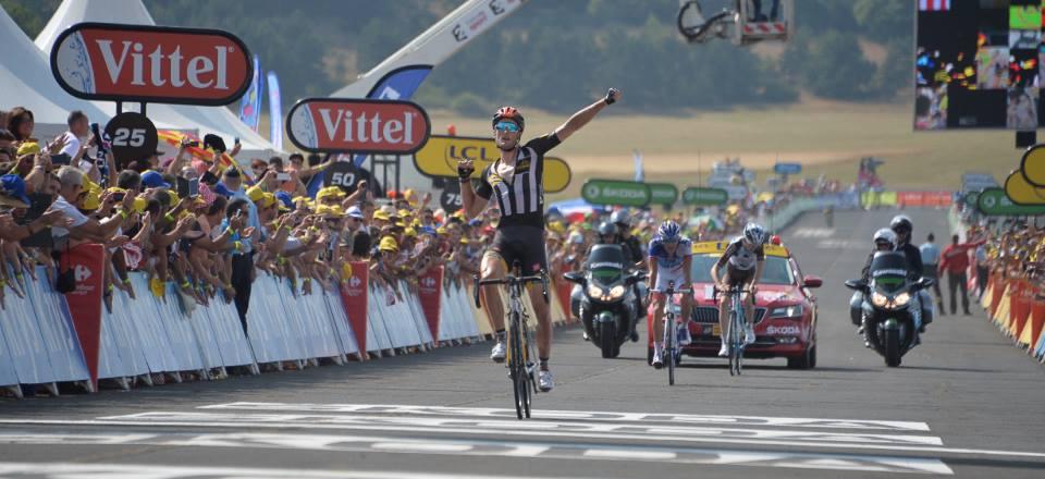 Steve Cummings, vincitore della tappa 14 del Tour