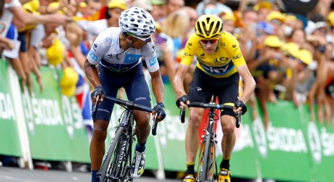 Tour de France: Froome e Quintana alla resa finale