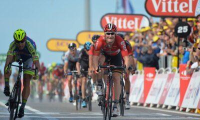 Andrè Greipel, vincitore della seconda tappa del Tour 2015