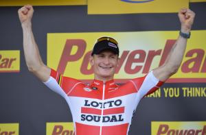 Andrè Greipel, vincitore della tappa odierna