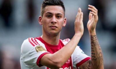 kishna con la maglia dell'Ajax
